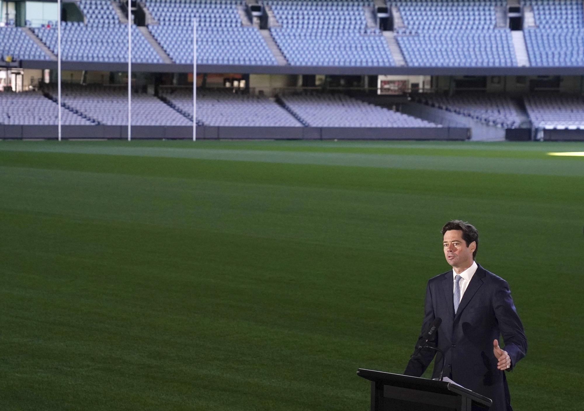 Australian Rules Football League Ready To Resume June 11 Wtop