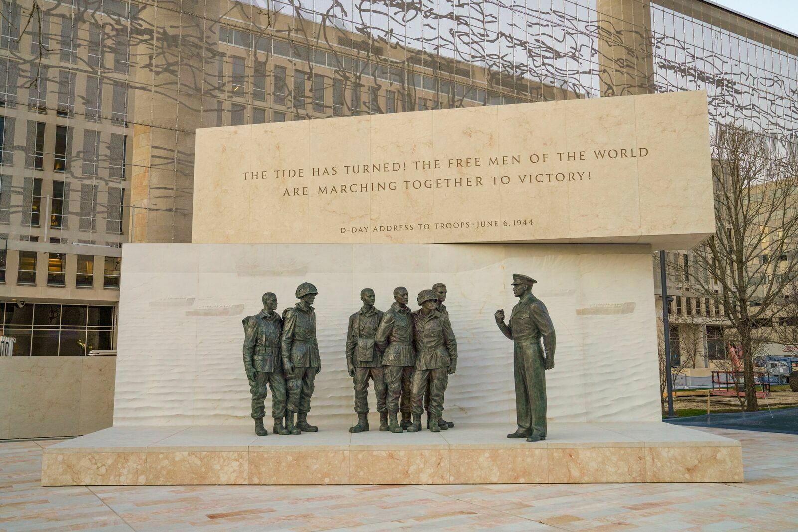 Coronavirus pandemic upends plans for Eisenhower memorial ...