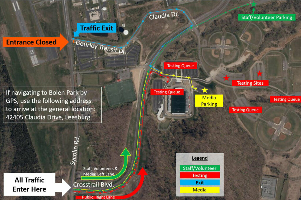 Loudoun County to host free drive-through COVID-19 test ...