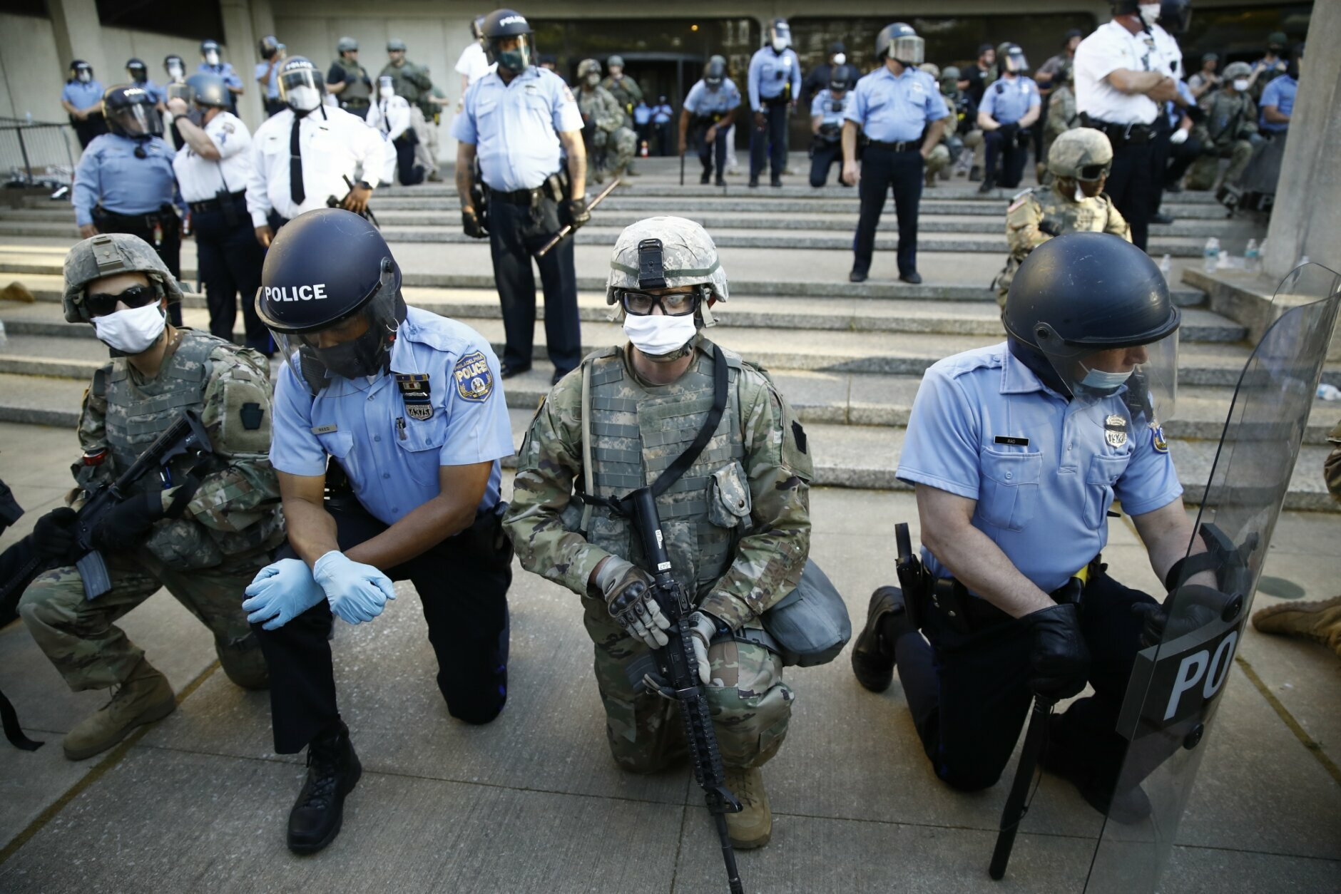 Trump Threatens Military Force Against Protesters Nationwide Wtop