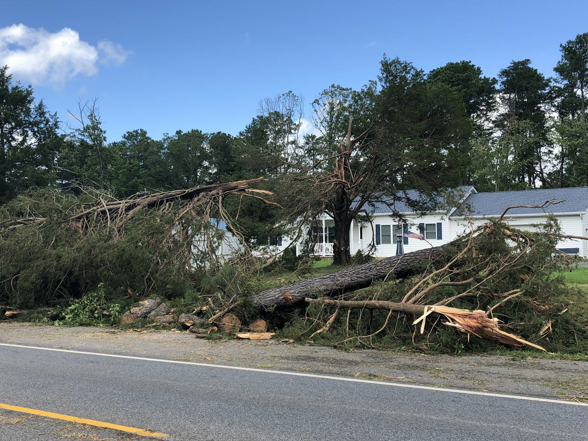 National Weather Service confirms 3 tornadoes in Maryland