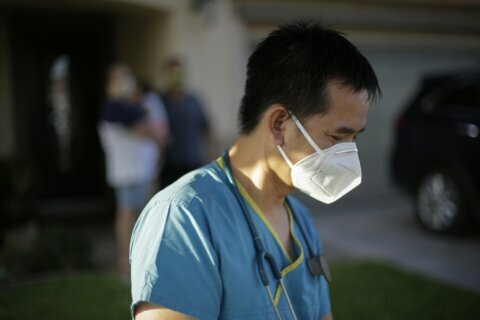 Virus ravages poor California county along Mexican border