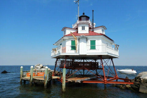 What it takes to keep a 145-year-old lighthouse from slipping into Chesapeake Bay