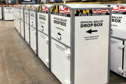 Ballot Drop Off Boxes Start Arriving In Maryland How Safe Is Your Vote Wtop