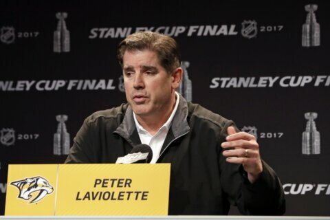 Capitals hire Stanley Cup-winning coach Peter Laviolette