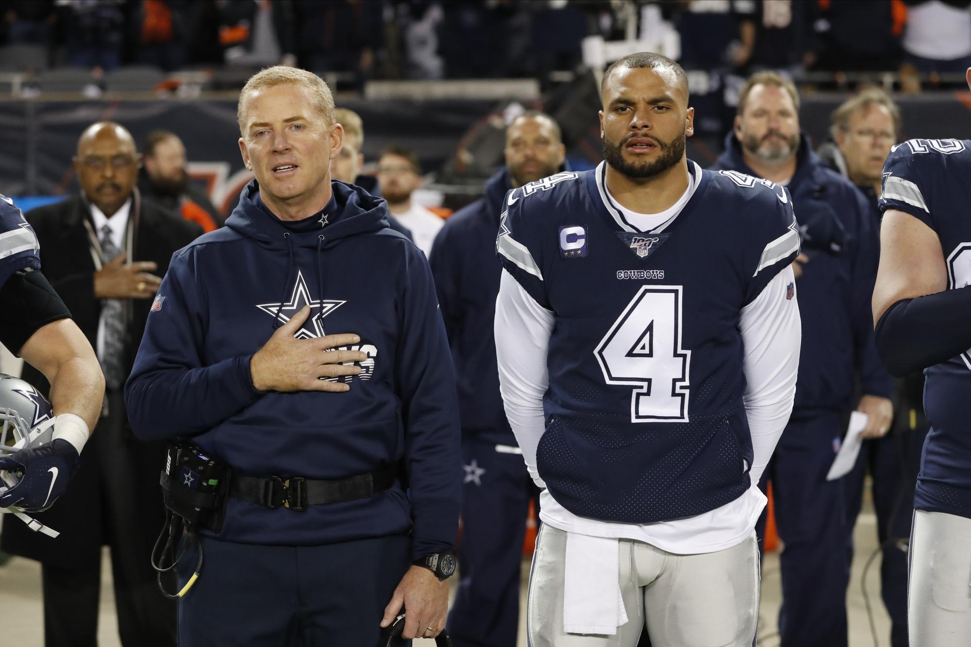 Cowboys Players Ponder Kneeling During National Anthem Wtop