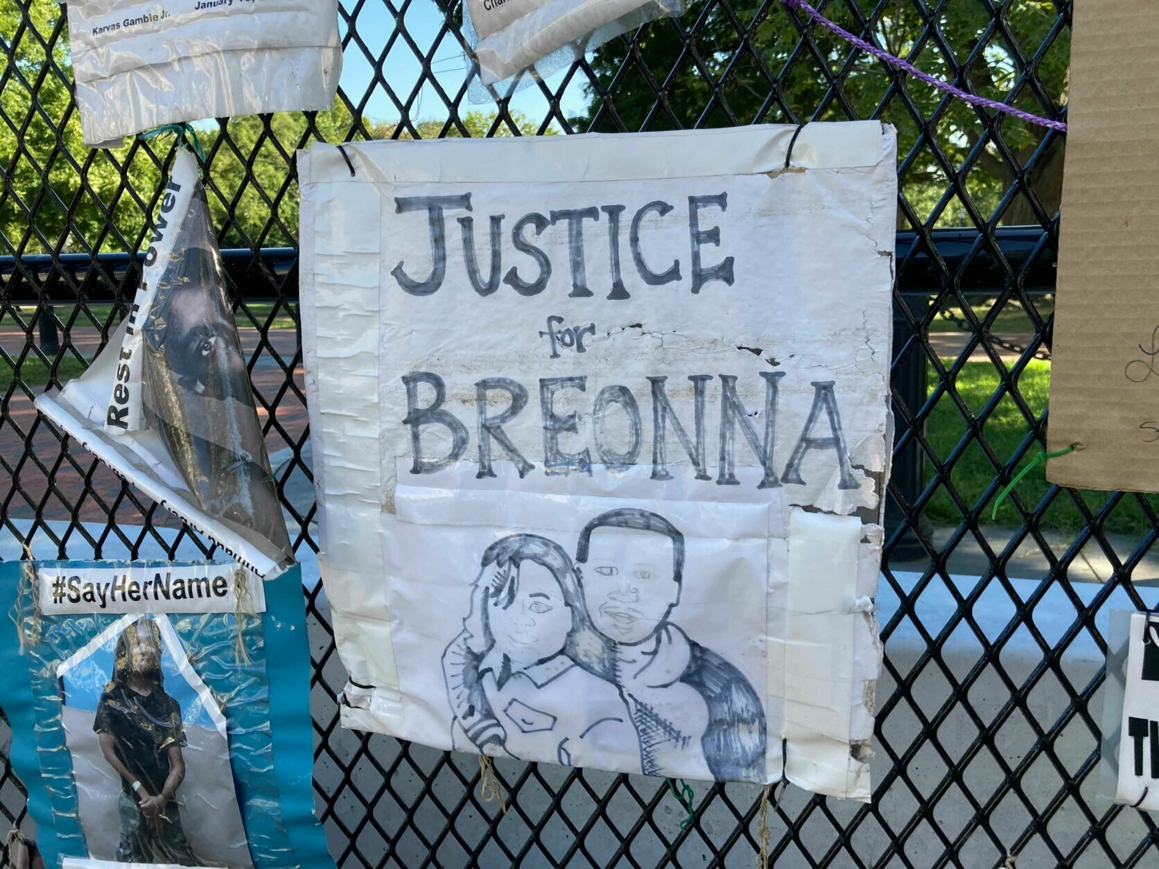 breonna taylor protest