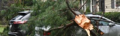 Edgewater tornado damage