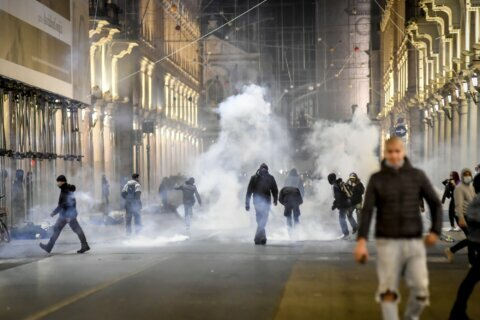 New protests loom as Europeans tire of virus restrictions