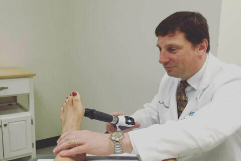 Podiatrist: Pandemic is leading to problems with people's feet