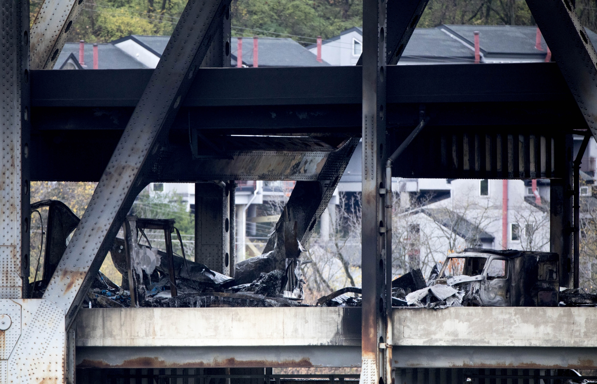 Fiery Crash Closes Bridge Linking Ohio Kentucky For Days Wtop