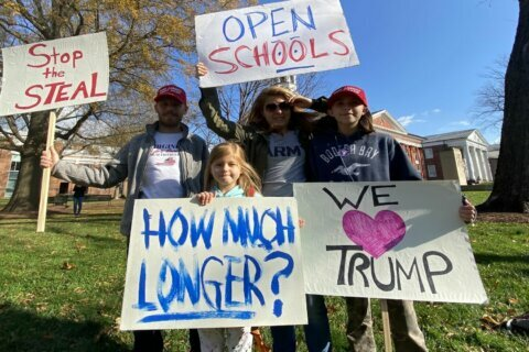 Rally in Loudoun Co. calls for prosecuting election fraud