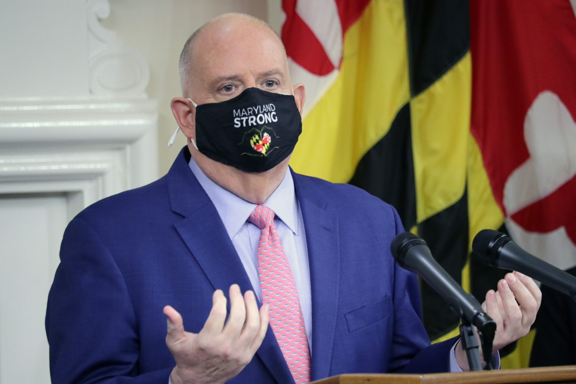 Hogan reminds Marylanders to take COVID-19 seriously this...
