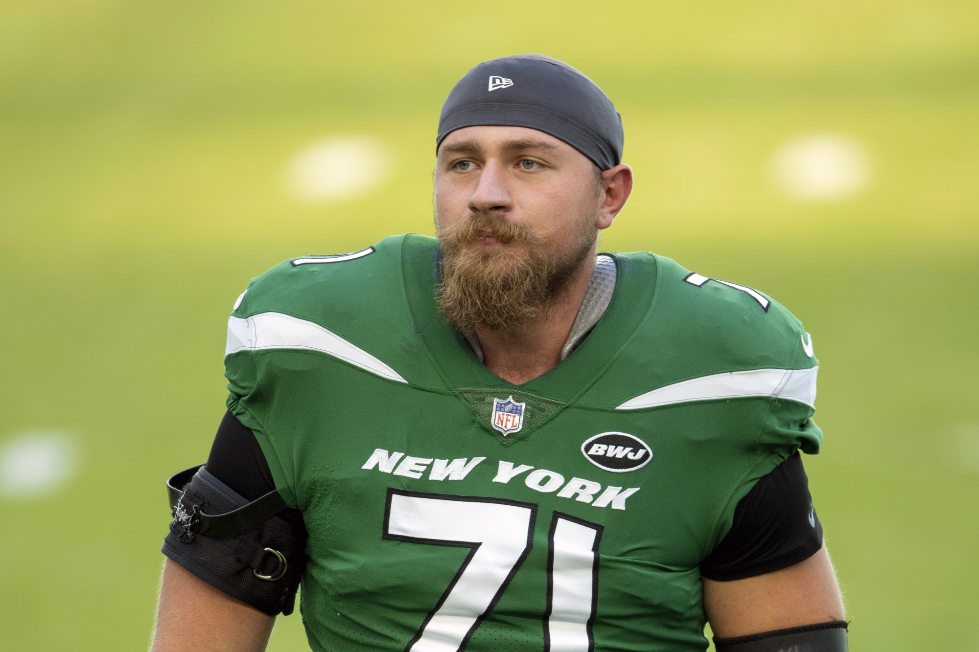 Jets place LG Alex Lewis on non-football injury list | WTOP