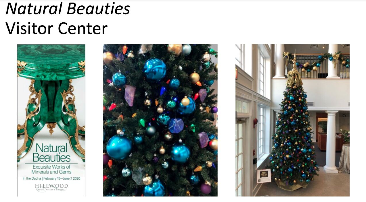 <p>Hillwood presents a &#8220;Natural Beauties&#8221; themed Christmas tree. (Courtesy Hillwood)</p>
