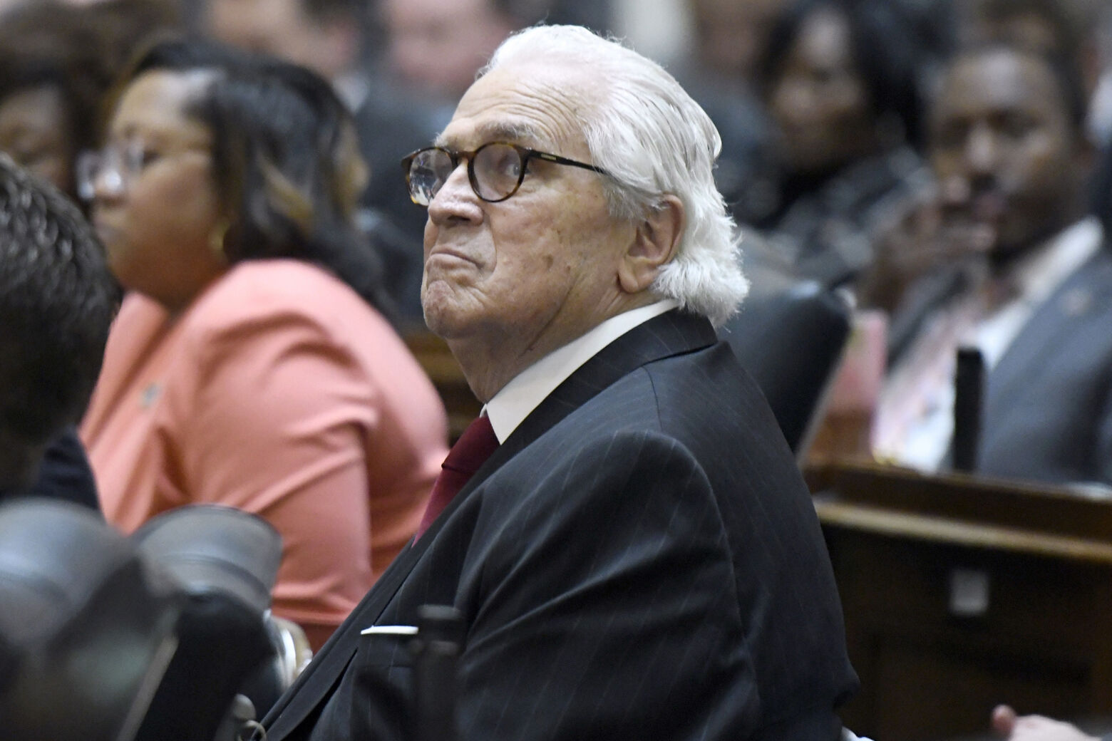 John Warner, former 15 term Virginia Senator, dies at 15   WTOP