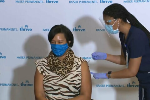 Pfizer vaccine booster shots available across DC region