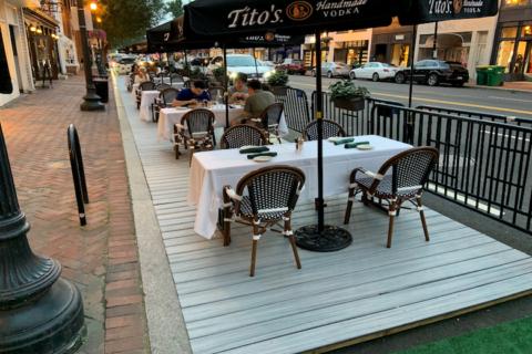 Expanded, deck-like sidewalks coming to Georgetown