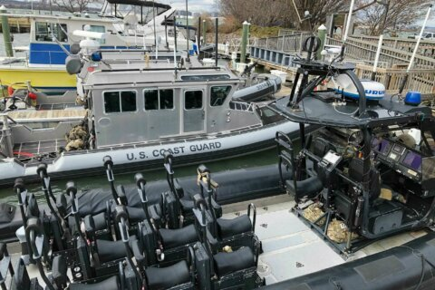 How the Coast Guard is helping secure the presidential inauguration