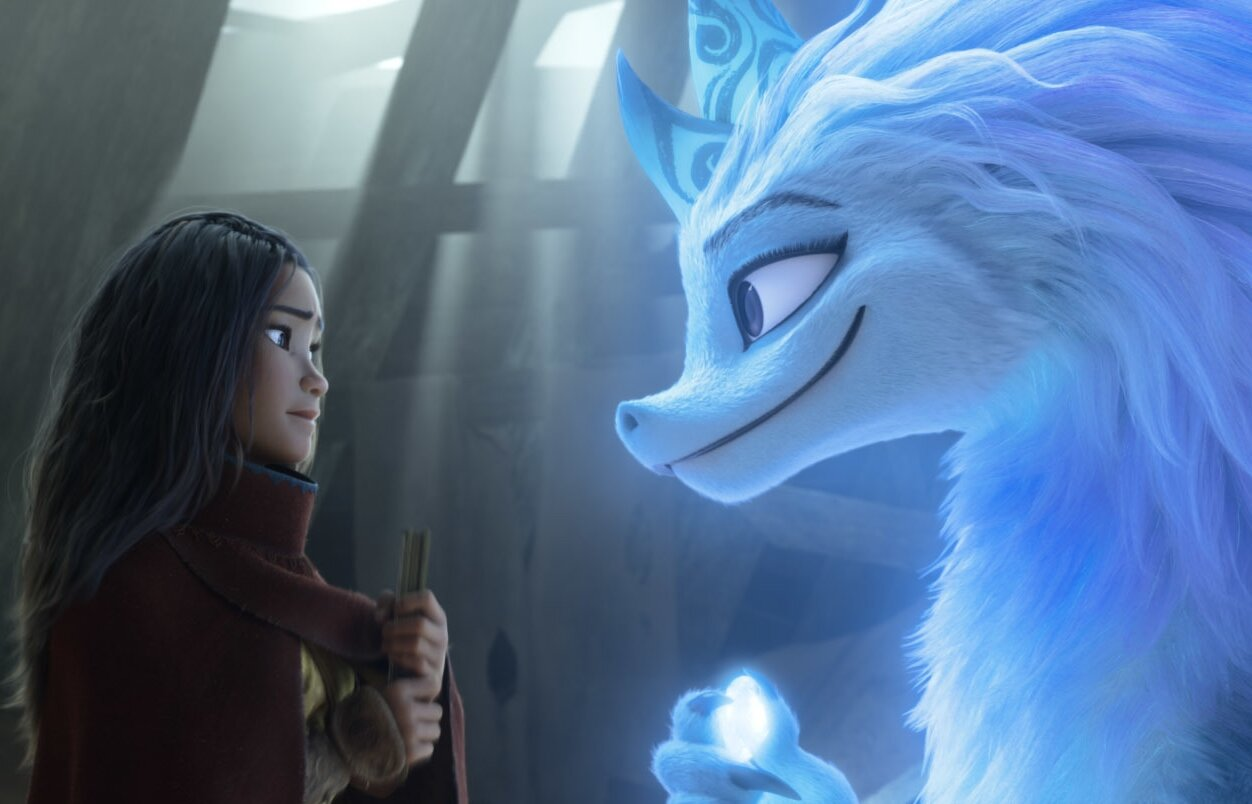 Review: 'Raya and the Last Dragon' mixes dazzling animation, timely themes