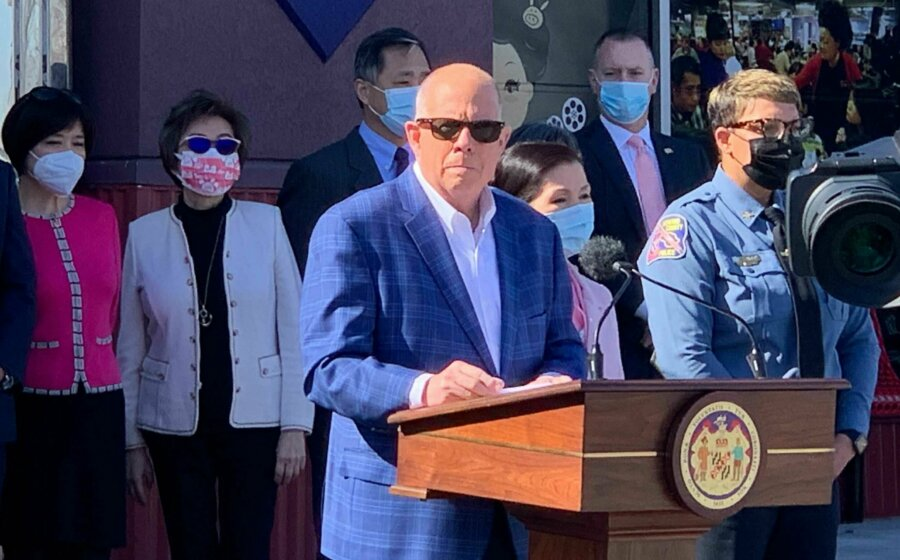 wtop.com: Hogan announces new steps to protect Md.'s Asian community