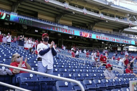 With Nationals Park capacity limit raised, more game tickets are now on sale