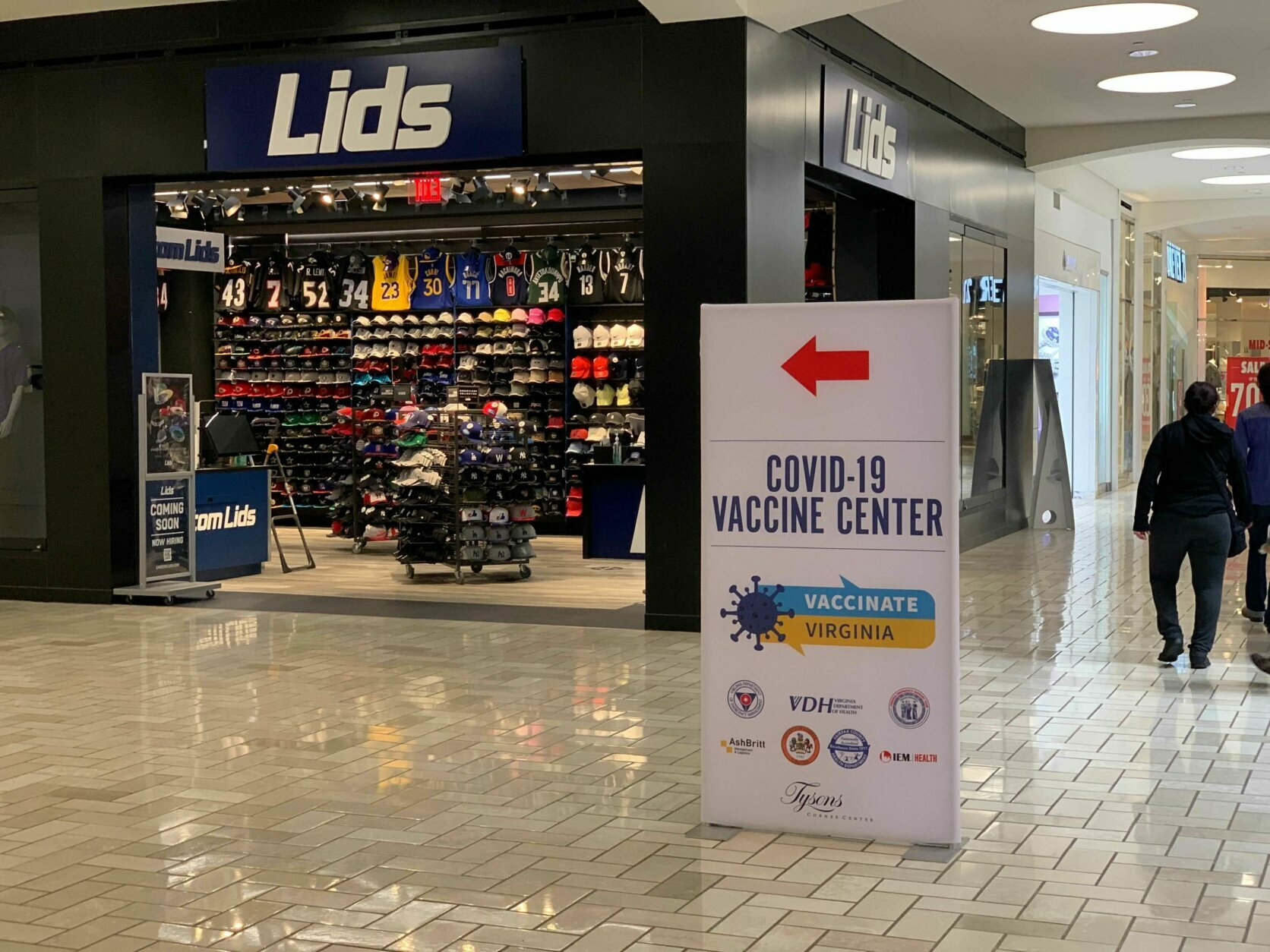 Mass Vaccination Site Set To Open Inside Tysons Corner Mall Wtop