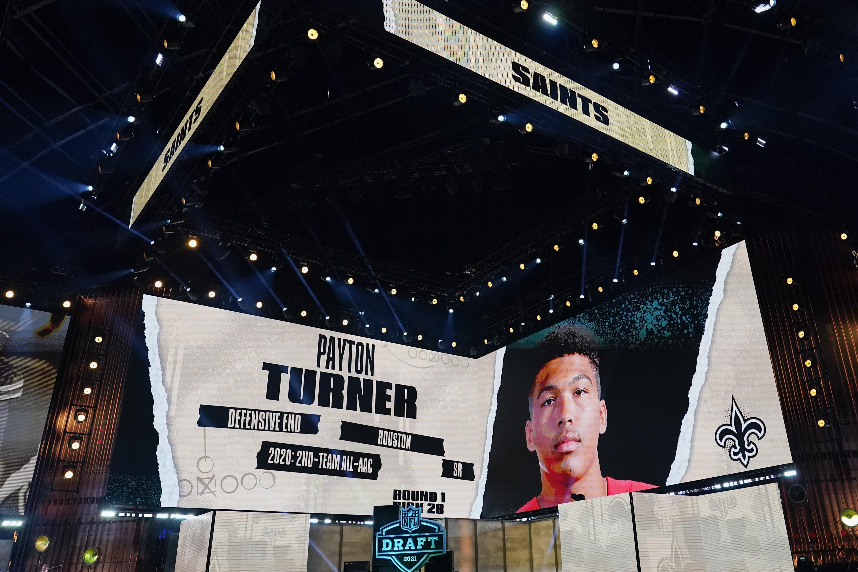 Saints draft Houston DE Payton Turner with 28th overall pick | WTOP