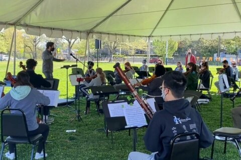 After one year of virtual practice, DC Youth Orchestra resumes in-person rehearsals