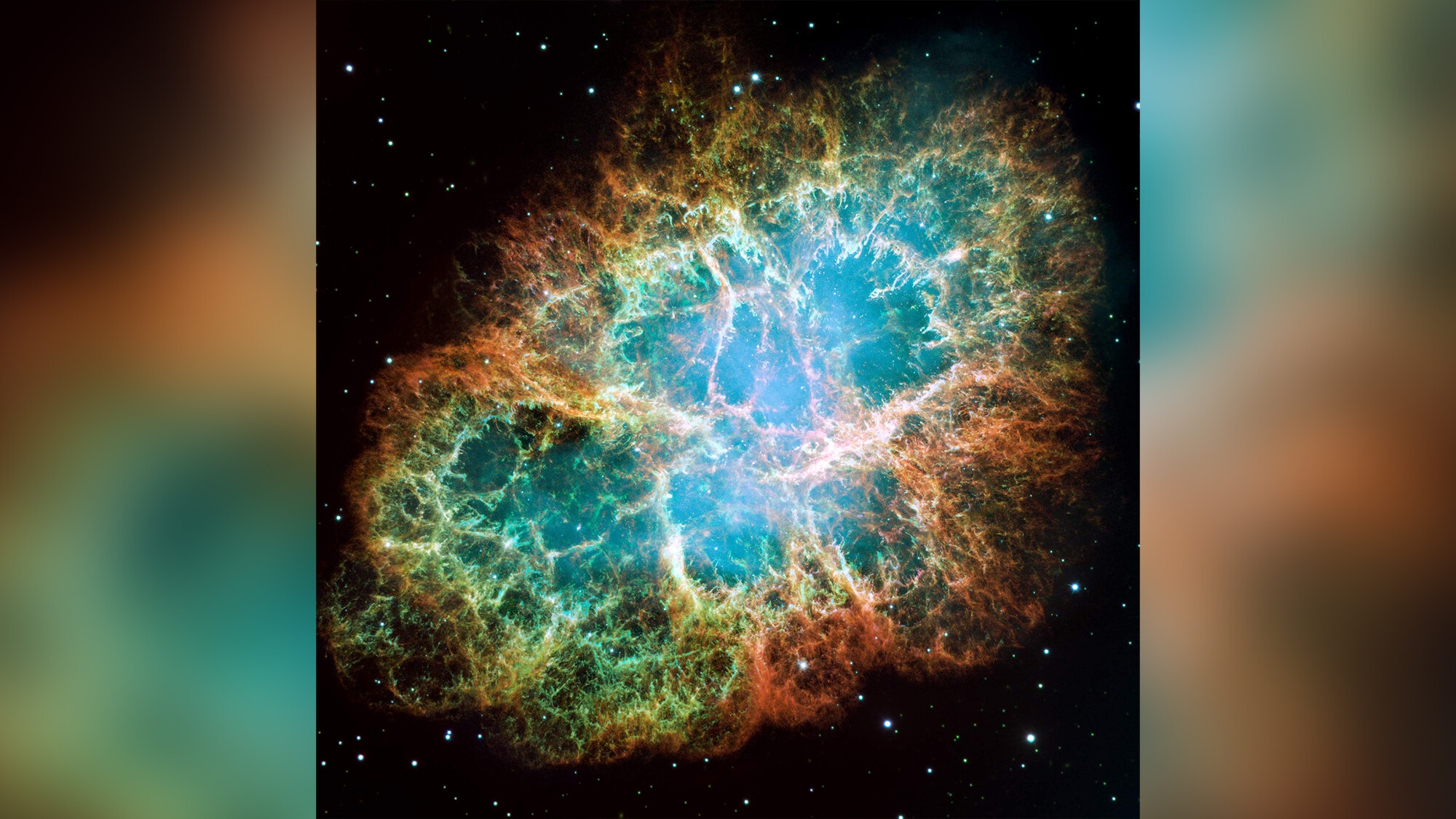 Giant radio pulses and X-rays come from the Crab Nebula