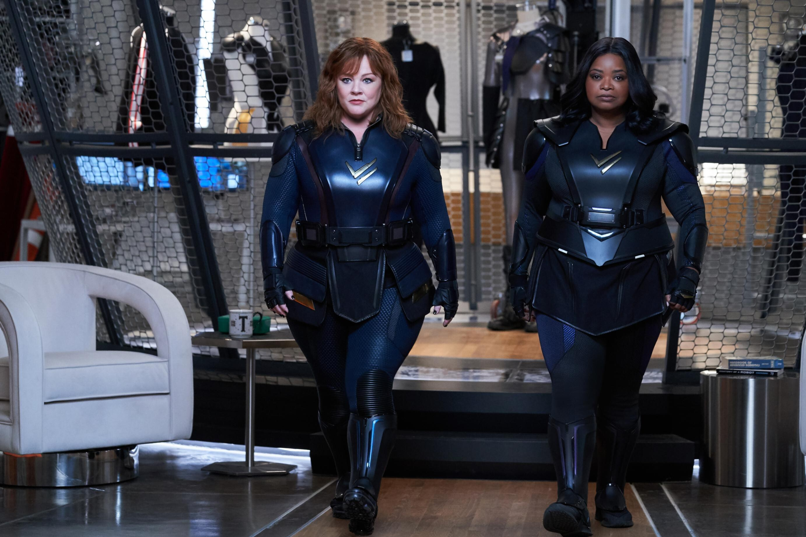 Review: Melissa McCarthy, Octavia Spencer team up in 'Thunder Force'