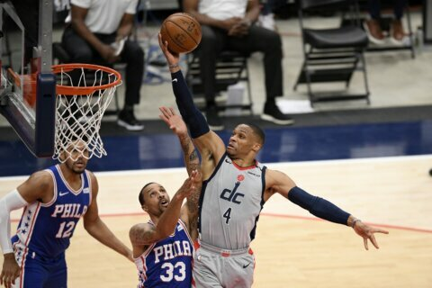 Reports: Wizards trade All-Star Westbrook to Lakers