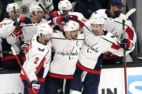 Capitals' 2021-22 schedule released, opens against NY Rangers in October
