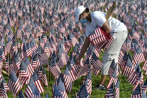 A nation slowly emerging from pandemic honors Memorial Day