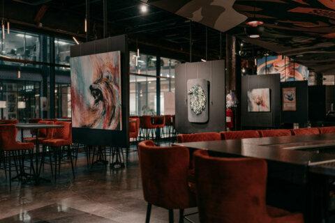 WHINO, half restaurant, half art gallery, opens at Ballston Quarter
