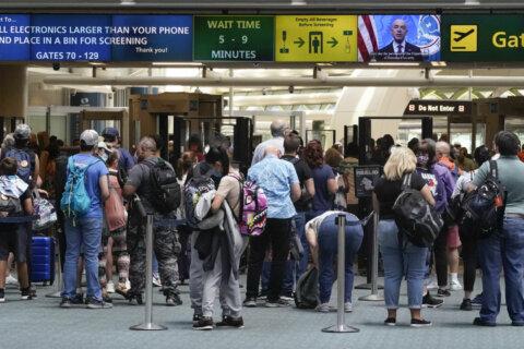 TSA: Virginia woman caught with gun at Richmond airport
