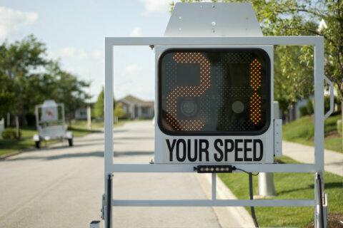 Speed indicators coming to Gaithersburg road