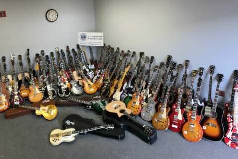 Sour note: 85 counterfeit guitars seized during customs bust at Dulles