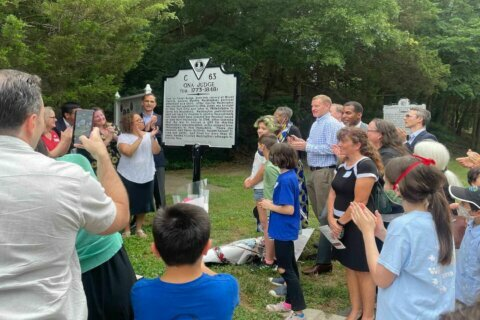 Slave owned by George Washington honored in Mount Vernon
