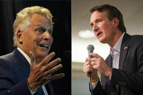 Virginia governor's race: McAuliffe, Youngkin to debate