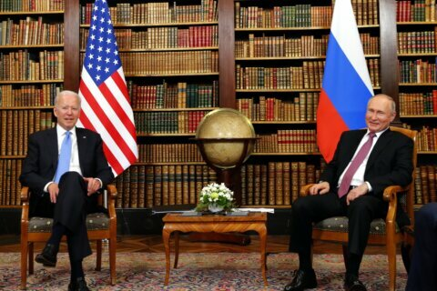 Analysis: 4 1/2 seconds told whole story at Biden-Putin summit