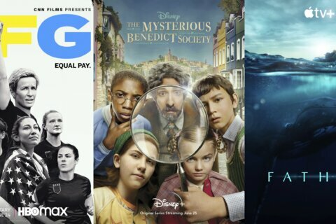 New this week: Whales, 'LFG,' 'Mysterious Benedict Society'