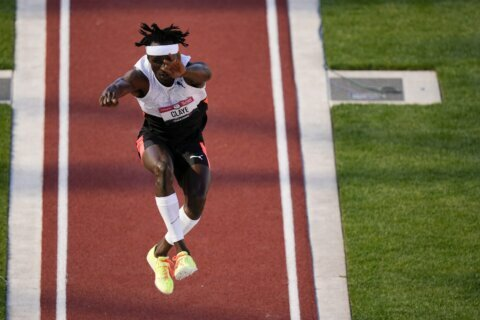 Strong Will: Claye out for gold in return from Achilles tear