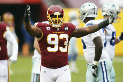 Washington signs DT Jonathan Allen to $72M, 4-year extension