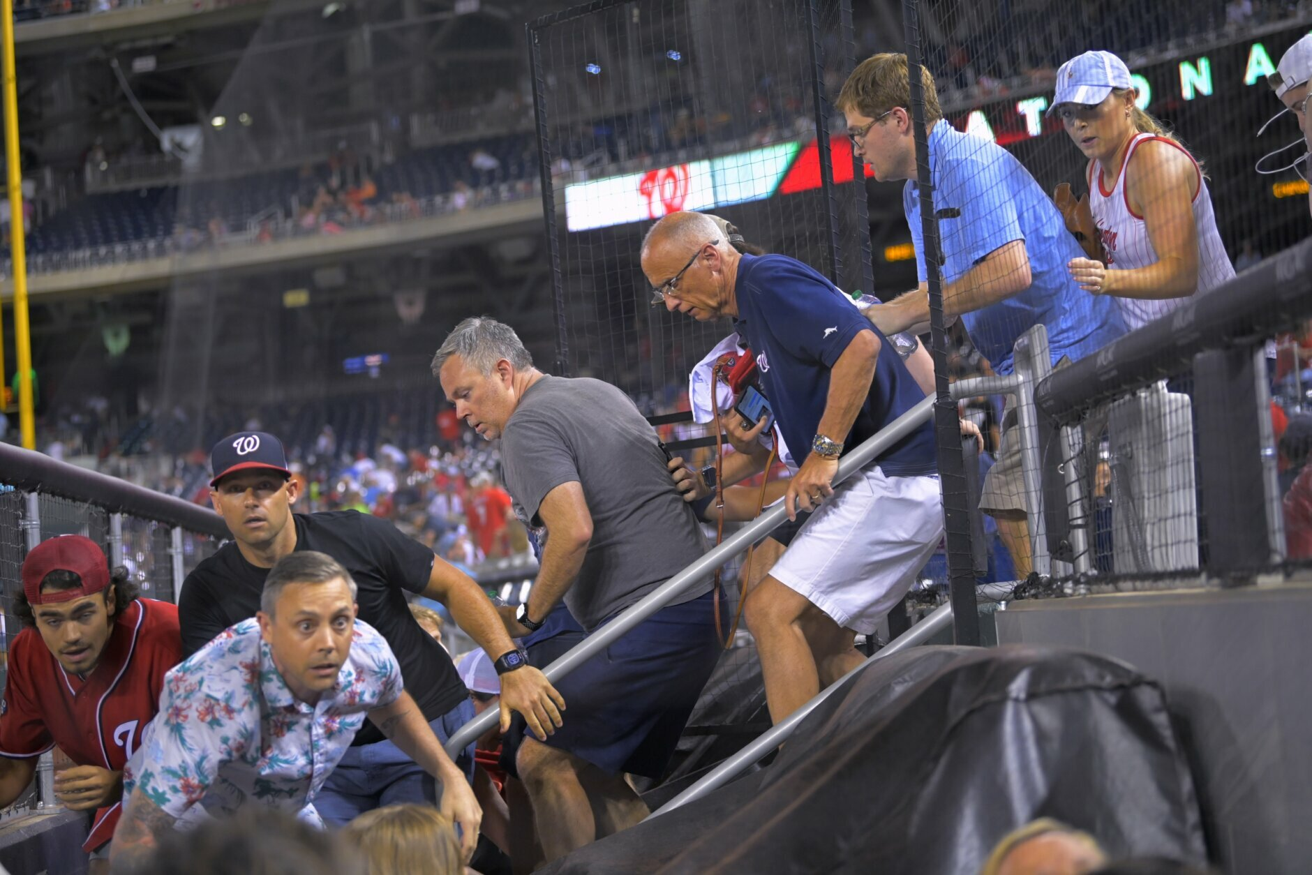 Shooting outside Nationals Park injures 3; officials seek suspect vehicle |  WTOP