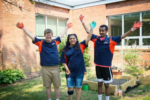 Fairfax Co. special education students revitalize green space, learn work skills