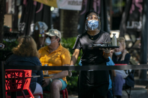 What would trigger a mask mandate in Montgomery County?