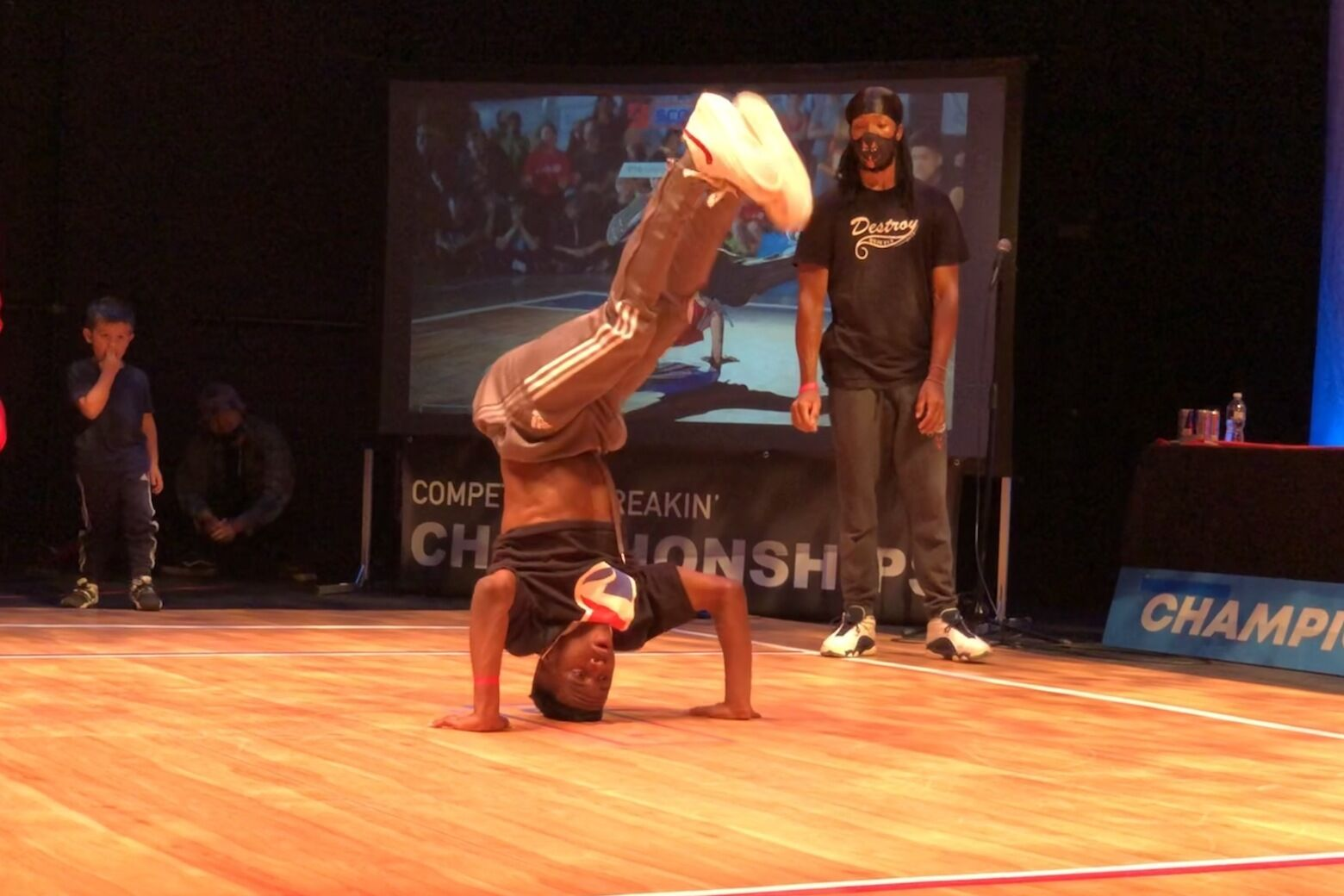 <p>Zak Grabowski of North Carolina competes at the Rock the Box competition in Silver Spring, Maryland. (WTOP/Valerie Bonk)</p>