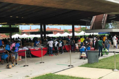 Families receive free clothes, school supplies at back-to-school event in DC's Ward 8