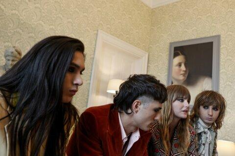 Italian rockers Maneskin enjoy blurring gender stereotypes